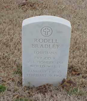 BRADLEY (VETERAN WWI), RODELL - Pulaski County, Arkansas | RODELL BRADLEY (VETERAN WWI) - Arkansas Gravestone Photos