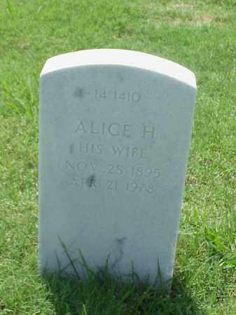 BRADLEY, ALICE H - Pulaski County, Arkansas | ALICE H BRADLEY - Arkansas Gravestone Photos