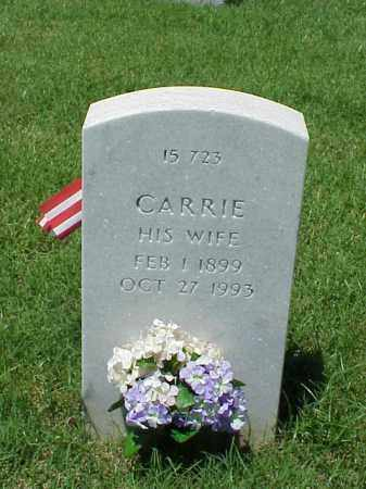 BRADLEY, CARRIE - Pulaski County, Arkansas | CARRIE BRADLEY - Arkansas Gravestone Photos