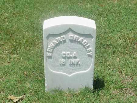 BRADLEY (VETERAN UNION), EDWARD - Pulaski County, Arkansas   EDWARD BRADLEY (VETERAN UNION) - Arkansas Gravestone Photos