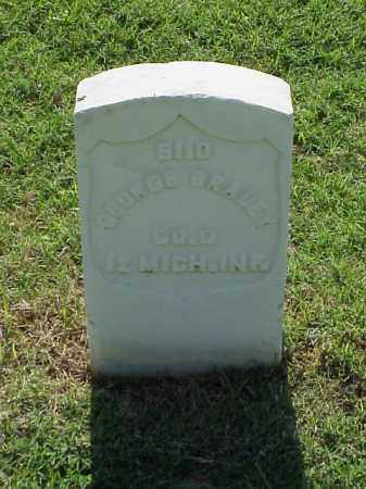 BRADEY (VETERAN UNION), GEORGE - Pulaski County, Arkansas   GEORGE BRADEY (VETERAN UNION) - Arkansas Gravestone Photos