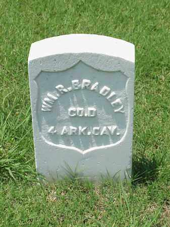 BRADLEY (VETERAN UNION), WILLIAM R - Pulaski County, Arkansas | WILLIAM R BRADLEY (VETERAN UNION) - Arkansas Gravestone Photos