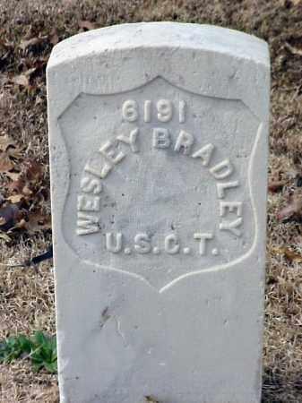 BRADLEY (VETERAN UNION), WESLEY - Pulaski County, Arkansas | WESLEY BRADLEY (VETERAN UNION) - Arkansas Gravestone Photos
