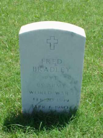 BRADLEY (VETERAN WWI), FRED - Pulaski County, Arkansas | FRED BRADLEY (VETERAN WWI) - Arkansas Gravestone Photos