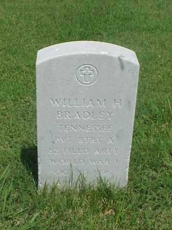 BRADLEY (VETERAN WWI), WILLIAM H - Pulaski County, Arkansas   WILLIAM H BRADLEY (VETERAN WWI) - Arkansas Gravestone Photos