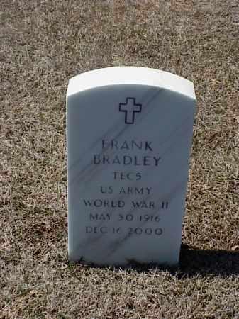 BRADLEY (VETERAN WWII), FRANK - Pulaski County, Arkansas   FRANK BRADLEY (VETERAN WWII) - Arkansas Gravestone Photos