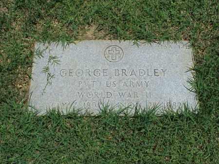 BRADLEY (VETERAN WWII), GEORGE - Pulaski County, Arkansas   GEORGE BRADLEY (VETERAN WWII) - Arkansas Gravestone Photos