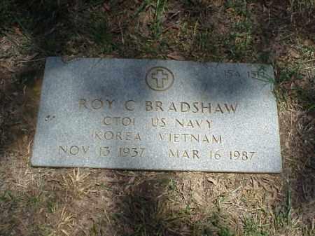 BRADSHAW (VETERAN 2 WARS), ROY C - Pulaski County, Arkansas | ROY C BRADSHAW (VETERAN 2 WARS) - Arkansas Gravestone Photos