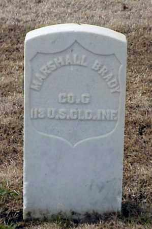 BRADY (VETERAN UNION), MARSHALL - Pulaski County, Arkansas | MARSHALL BRADY (VETERAN UNION) - Arkansas Gravestone Photos