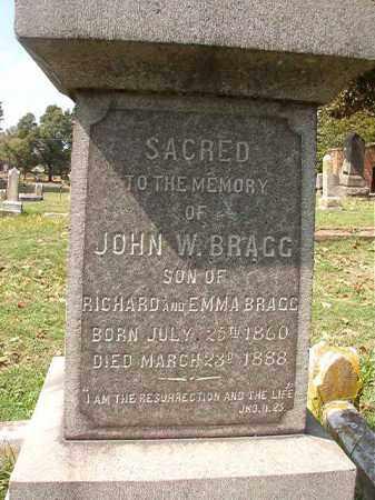 BRAGG, JOHN W - Pulaski County, Arkansas   JOHN W BRAGG - Arkansas Gravestone Photos
