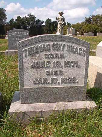BRAGG, THOMAS GUY - Pulaski County, Arkansas | THOMAS GUY BRAGG - Arkansas Gravestone Photos