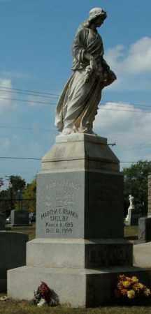 BRANCH SHELBY, MARTHA E - Pulaski County, Arkansas | MARTHA E BRANCH SHELBY - Arkansas Gravestone Photos