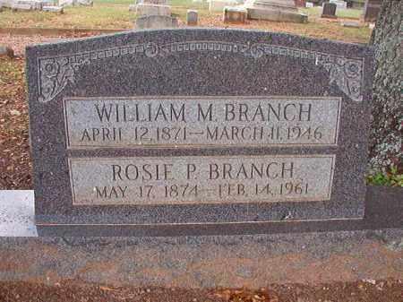 BRANCH, ROSIE P - Pulaski County, Arkansas | ROSIE P BRANCH - Arkansas Gravestone Photos