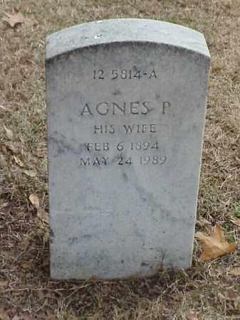 BRANDHORST, AGNES P - Pulaski County, Arkansas | AGNES P BRANDHORST - Arkansas Gravestone Photos