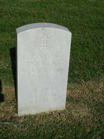 BRANDON (VETERAN KOR), BENTON DOUGLAS, JR - Pulaski County, Arkansas | BENTON DOUGLAS, JR BRANDON (VETERAN KOR) - Arkansas Gravestone Photos
