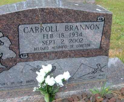 BRANNON, CARROLL - Pulaski County, Arkansas   CARROLL BRANNON - Arkansas Gravestone Photos