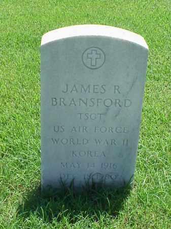 BRANSFORD (VETERAN 2 WARS), JAMES R - Pulaski County, Arkansas | JAMES R BRANSFORD (VETERAN 2 WARS) - Arkansas Gravestone Photos