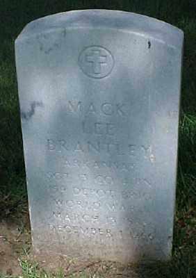 BRANTLEY (VETERAN WWI), MACK LEE - Pulaski County, Arkansas | MACK LEE BRANTLEY (VETERAN WWI) - Arkansas Gravestone Photos