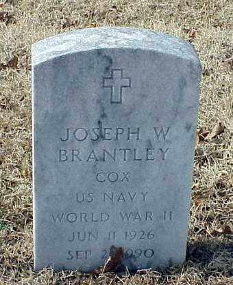 BRANTLEY (VETERAN WWII), JOSEPH W - Pulaski County, Arkansas | JOSEPH W BRANTLEY (VETERAN WWII) - Arkansas Gravestone Photos