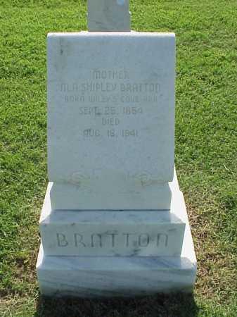SHIPLEY BRATTON, M A - Pulaski County, Arkansas | M A SHIPLEY BRATTON - Arkansas Gravestone Photos