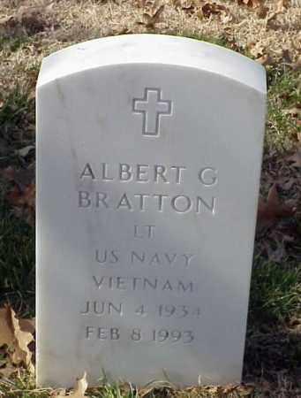 BRATTON (VETERAN VIET), ALBERT G - Pulaski County, Arkansas | ALBERT G BRATTON (VETERAN VIET) - Arkansas Gravestone Photos