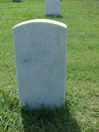 BRAULT, RUBY F - Pulaski County, Arkansas | RUBY F BRAULT - Arkansas Gravestone Photos