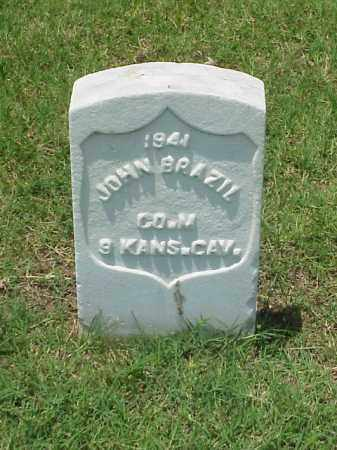 BRAZIL (VETERAN UNION), JOHN - Pulaski County, Arkansas | JOHN BRAZIL (VETERAN UNION) - Arkansas Gravestone Photos