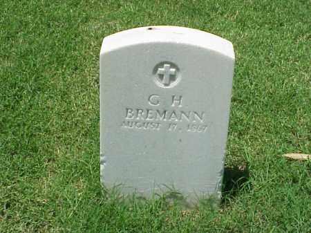BREMANN (VETERAN UNION), G H - Pulaski County, Arkansas | G H BREMANN (VETERAN UNION) - Arkansas Gravestone Photos