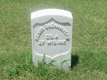 BRENNINGER (VETERAN UNION), HENRY - Pulaski County, Arkansas | HENRY BRENNINGER (VETERAN UNION) - Arkansas Gravestone Photos