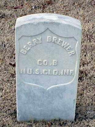 BREWER (VETERAN UNION), BERRY - Pulaski County, Arkansas   BERRY BREWER (VETERAN UNION) - Arkansas Gravestone Photos