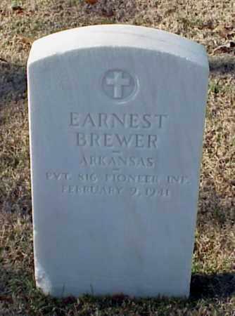 BREWER (VETERAN WWI), EARNEST - Pulaski County, Arkansas   EARNEST BREWER (VETERAN WWI) - Arkansas Gravestone Photos