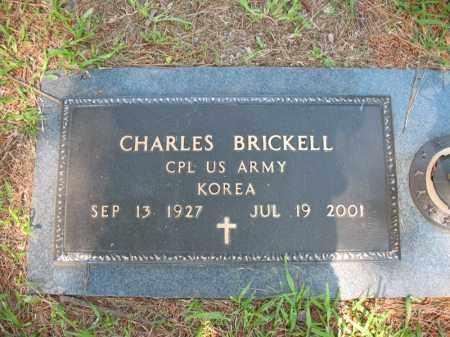 BRICKELL (VETERAN KOR), CHARLES - Pulaski County, Arkansas | CHARLES BRICKELL (VETERAN KOR) - Arkansas Gravestone Photos