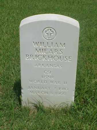BRICKHOUSE (VETERAN WWII), WILLIAM MIEARS - Pulaski County, Arkansas | WILLIAM MIEARS BRICKHOUSE (VETERAN WWII) - Arkansas Gravestone Photos