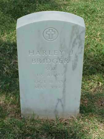BRIDGER (VETERAN WWI), HARLEY J - Pulaski County, Arkansas | HARLEY J BRIDGER (VETERAN WWI) - Arkansas Gravestone Photos