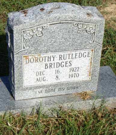BRIDGES, DOROTHY - Pulaski County, Arkansas   DOROTHY BRIDGES - Arkansas Gravestone Photos
