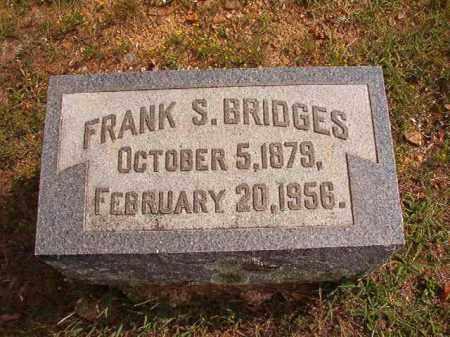BRIDGES, FRANK S - Pulaski County, Arkansas   FRANK S BRIDGES - Arkansas Gravestone Photos