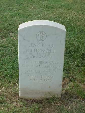 BRIDWELL (VETERAN WWII), JACK O - Pulaski County, Arkansas | JACK O BRIDWELL (VETERAN WWII) - Arkansas Gravestone Photos