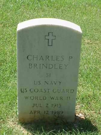 BRINDLEY (VETERAN WWII), CHARLES P - Pulaski County, Arkansas | CHARLES P BRINDLEY (VETERAN WWII) - Arkansas Gravestone Photos