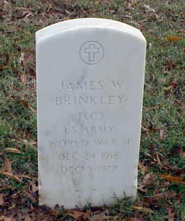 BRINKLEY (VETERAN WWII), JAMES W - Pulaski County, Arkansas | JAMES W BRINKLEY (VETERAN WWII) - Arkansas Gravestone Photos