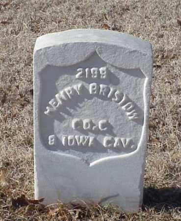 BRISTOW (VETERAN UNION), HENRY - Pulaski County, Arkansas | HENRY BRISTOW (VETERAN UNION) - Arkansas Gravestone Photos