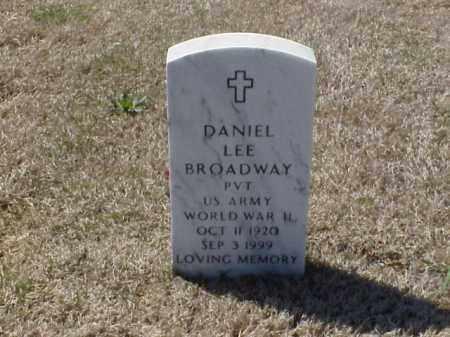 BROADWAY (VETERAN WWII), DANIEL LEE - Pulaski County, Arkansas | DANIEL LEE BROADWAY (VETERAN WWII) - Arkansas Gravestone Photos