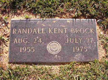 BROCK, RANDALL KENT - Pulaski County, Arkansas | RANDALL KENT BROCK - Arkansas Gravestone Photos
