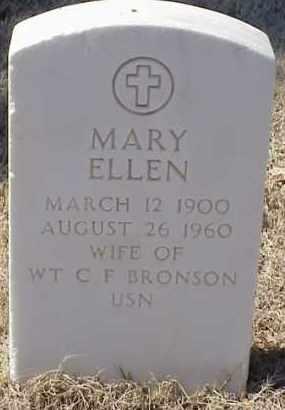 BRONSON, MARY ELLEN - Pulaski County, Arkansas | MARY ELLEN BRONSON - Arkansas Gravestone Photos
