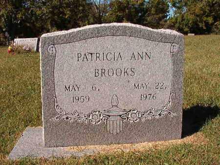 BROOKS, PATRICIA ANN - Pulaski County, Arkansas | PATRICIA ANN BROOKS - Arkansas Gravestone Photos
