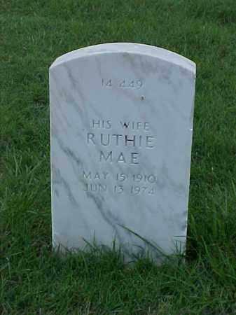 BROOKS, RUTHIE MAE - Pulaski County, Arkansas | RUTHIE MAE BROOKS - Arkansas Gravestone Photos