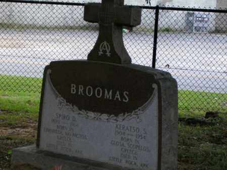 BROOMAS, SPIRO D - Pulaski County, Arkansas | SPIRO D BROOMAS - Arkansas Gravestone Photos