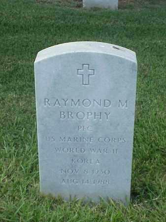 BROPHY (VETERAN 2 WARS), RAYMOND M - Pulaski County, Arkansas | RAYMOND M BROPHY (VETERAN 2 WARS) - Arkansas Gravestone Photos