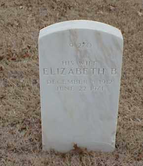 BROWN, ELIZABETH B - Pulaski County, Arkansas | ELIZABETH B BROWN - Arkansas Gravestone Photos