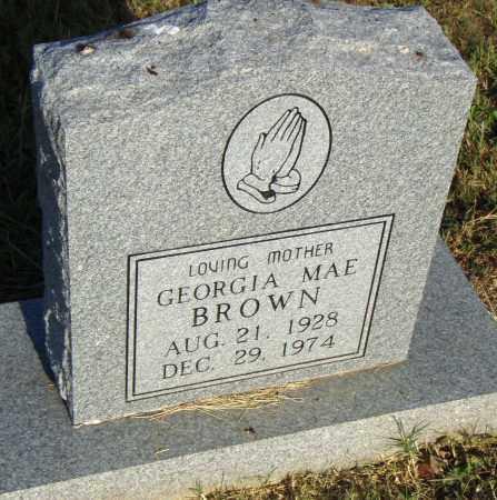 BROWN, GEORGIA MAE - Pulaski County, Arkansas | GEORGIA MAE BROWN - Arkansas Gravestone Photos