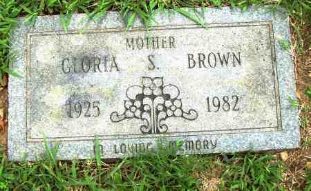 BROWN, GLORIA S - Pulaski County, Arkansas | GLORIA S BROWN - Arkansas Gravestone Photos